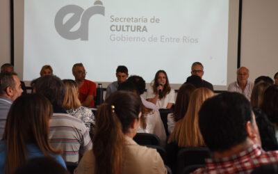 Se realizó un nuevo encuentro del Consejo Provincial de Cultura