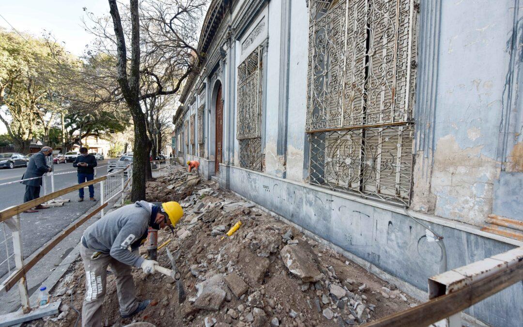 El Gobierno de Entre Ríos realiza obras de restauración en la Biblioteca Provincial de Entre Ríos