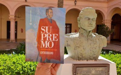 """La Editorial de Entre Ríos presenta """"Supremo Entrerriano"""""""