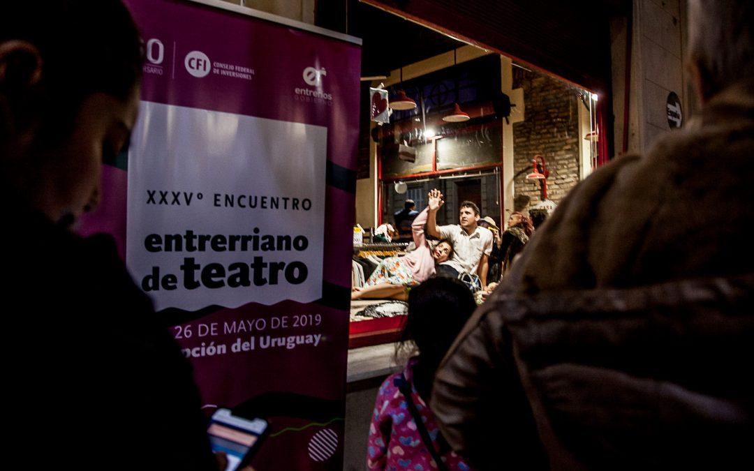 Convocatoria a elencos para el XXXVI° Encuentro Entrerriano de Teatro