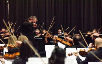 Concierto de la Sinfónica de Entre Ríos Sólo Percusión en el Centro Provincial de Convenciones