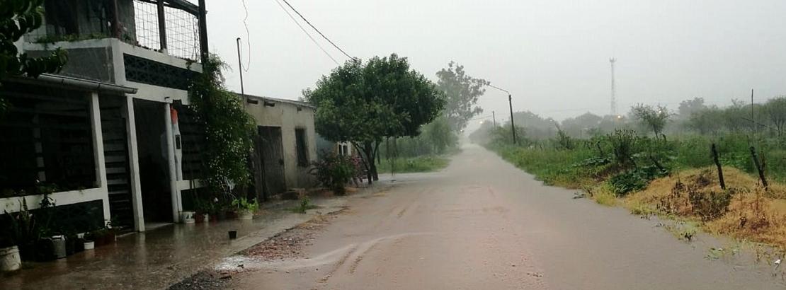 El gobierno provincial monitorea y asiste a zonas afectadas por las lluvias