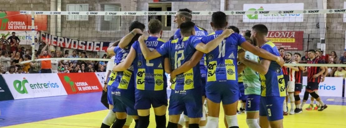 El gobierno provincial acompañó el debut de Paracao en el Torneo Argentino de Vóley