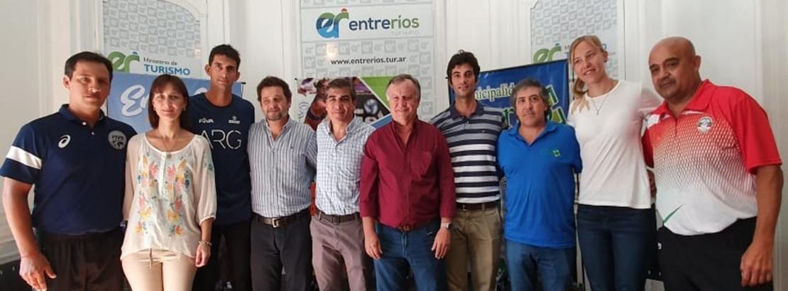 El gobierno provincial acompañó el lanzamiento del Torneo de Beach Vóley de Cerrito