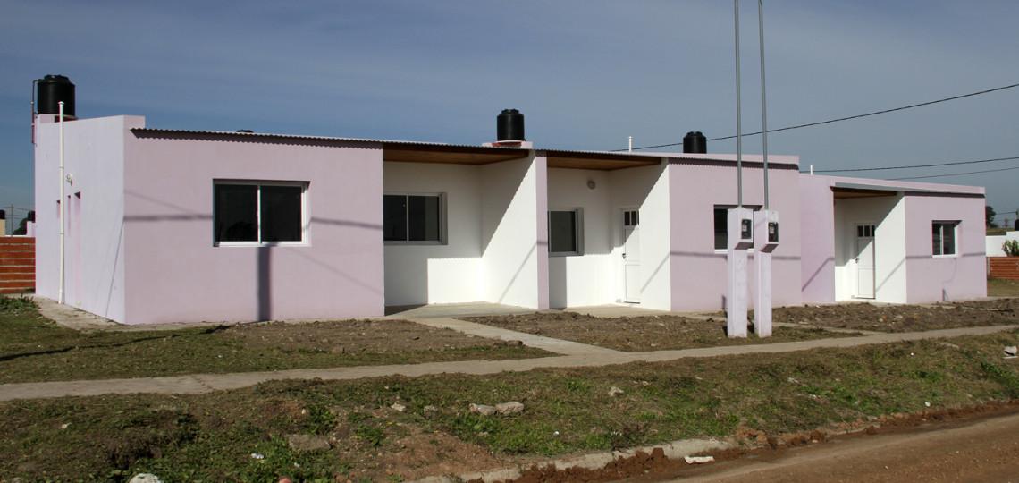 Se están ejecutando más de 3.000 viviendas rurales en la provincia