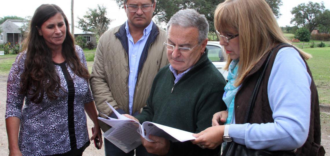El gobierno trabaja en atender las necesidades de obra para Puerto General Alvear