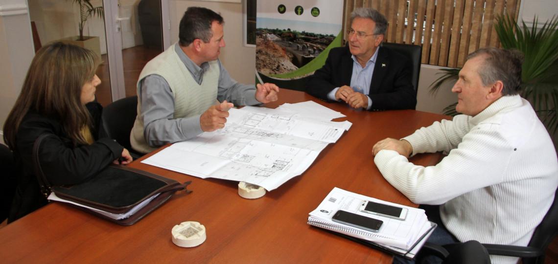 Proyectan el nuevo edificio de la escuela secundaria de Sauce Pinto