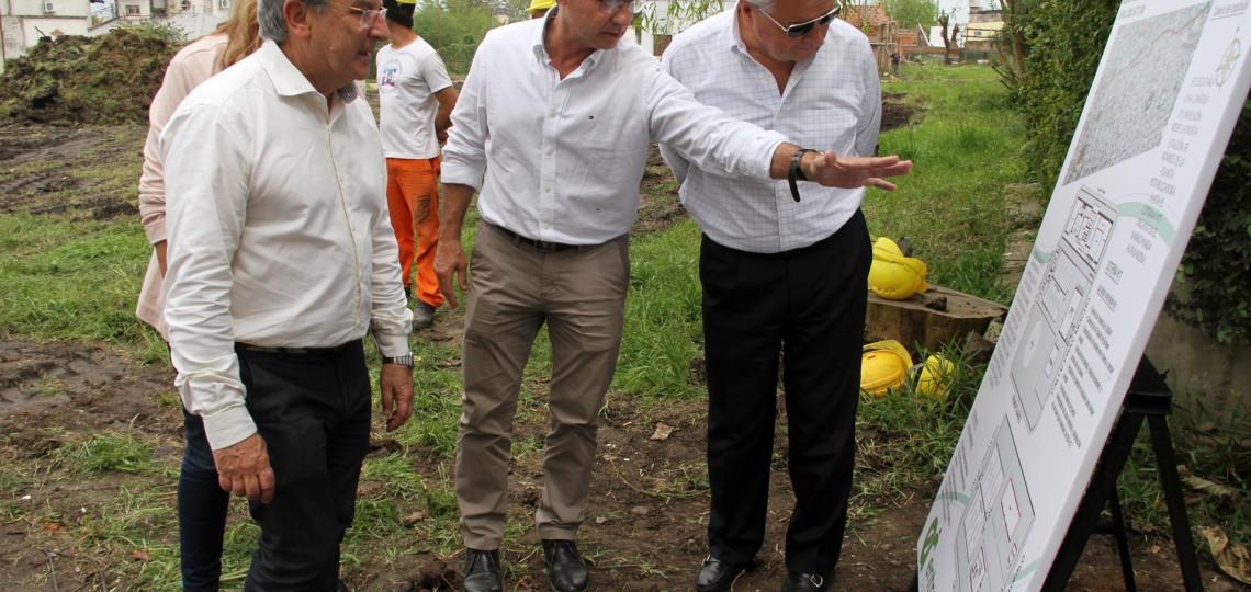 Comenzaron las obras de la escuela de educación técnica 3 y la planta de agua de Concepción del Uruguay