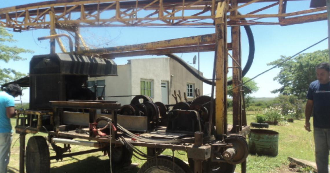 La provincia realiza obras de mantenimiento para garantizar el servicio de agua potable