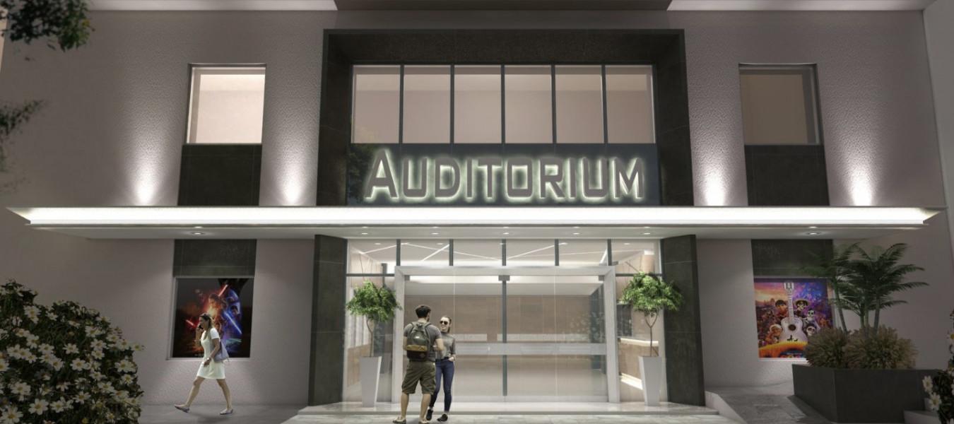CAFESG presentó el anteproyecto de puesta en valor del Teatro Auditorium Concordia