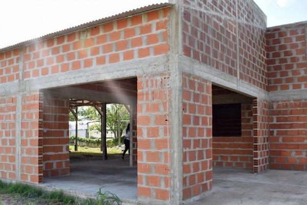 Avanza la construcción de la Sede para la junta de gobierno de San Miguel