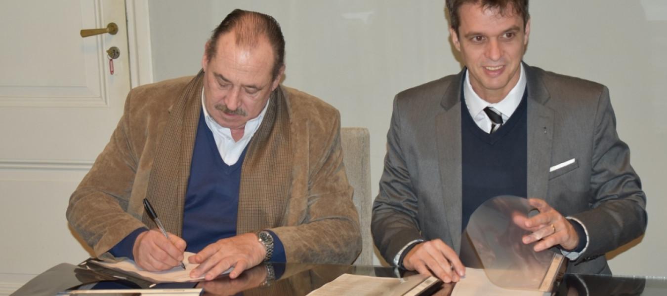 Firmaron un acuerdo de cooperación el Ente Regulador de los Recursos Termales de Entre Ríos y la Municipalidad de Concordia