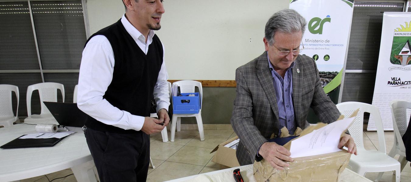 Se abrieron los sobres para la obra de defensa contra inundaciones de Villa Paranacito