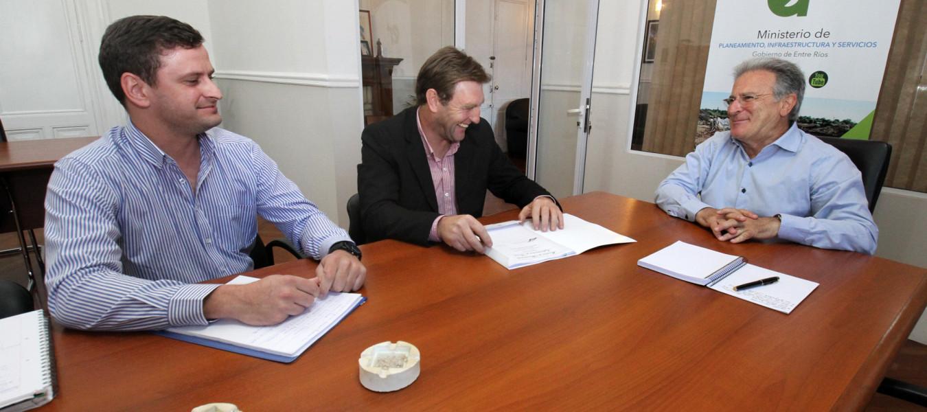 La provincia evalúa nuevos proyectos de obras para Los Charrúas