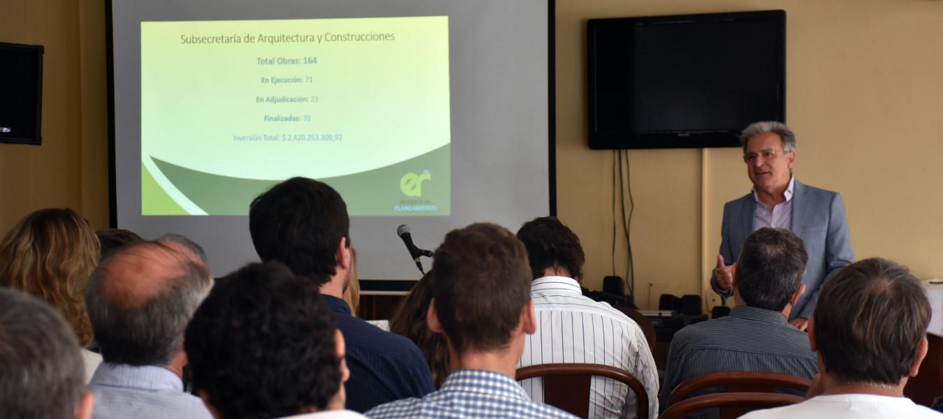 Planeamiento realizó un encuentro de fortalecimiento institucional para mejora de procesos