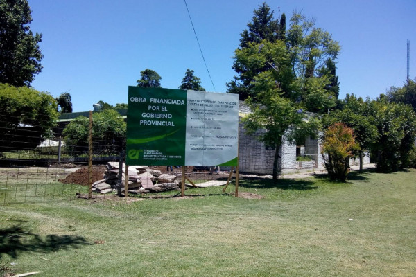Iniciaron las obras en el Centro de Salud Ibáñez de Villa Urquiza