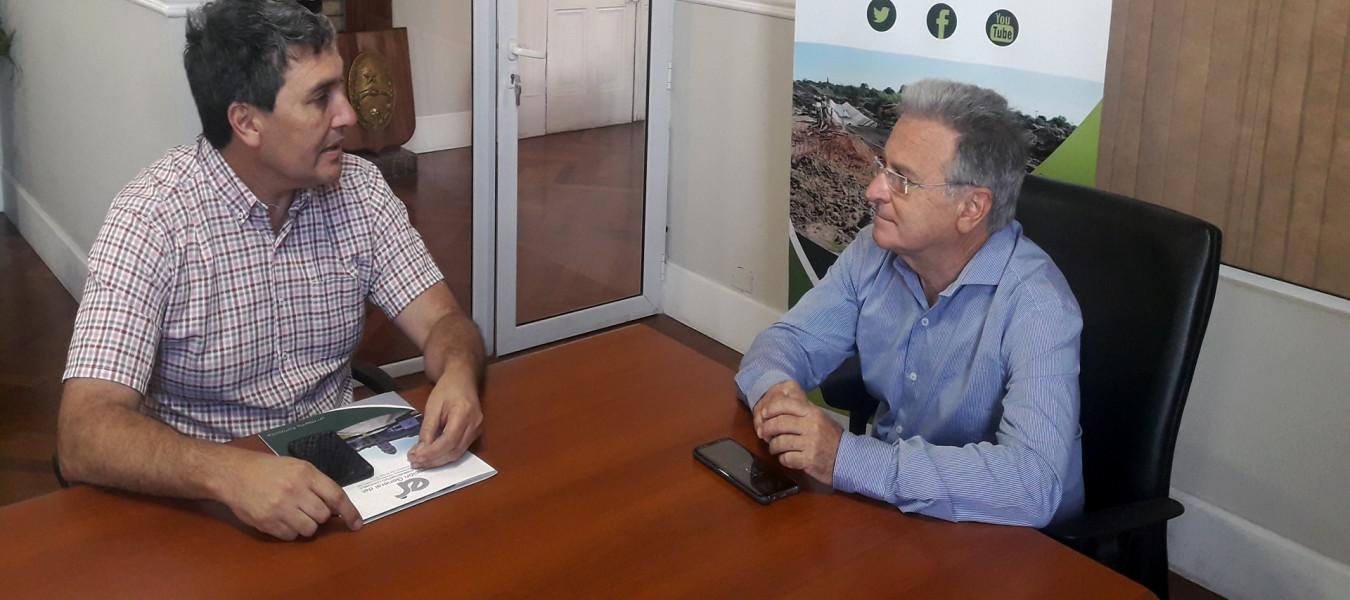 Se evaluaron obras y proyectos para el departamento Uruguay