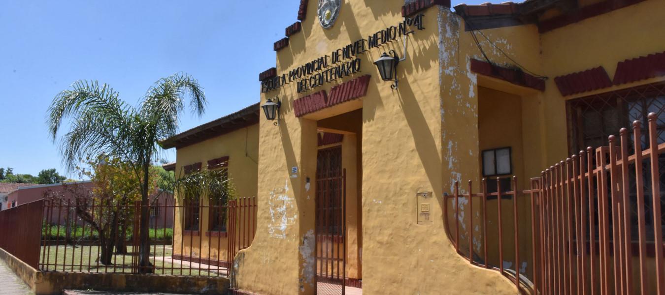La provincia reparará la escuela Nº 7 Del Centenario en Aldea María Luisa