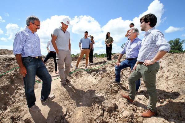 La provincia invierte más de 356 millones de pesos en obras para el departamento La Paz
