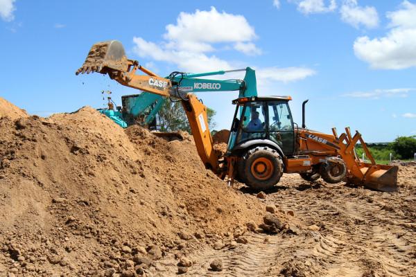 El gobierno ejecuta obras de saneamiento en el departamento Feliciano