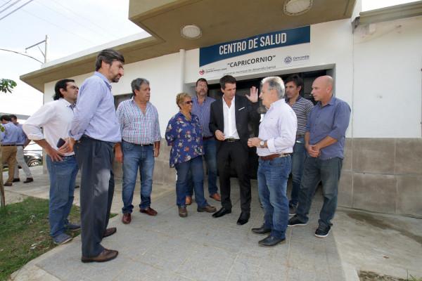Se recorrieron obras del Promeba en la ciudad de Concordia