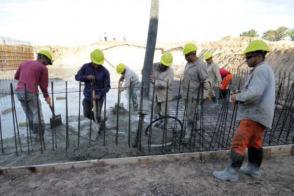 Avanzan los trabajos en la nueva planta de agua de La Paz