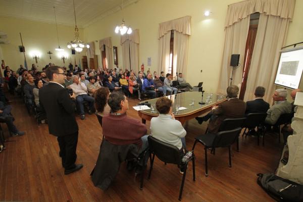 Se realizó la audiencia pública del Programa de Saneamiento Integral de Ciudades Ribereñas del Río Uruguay