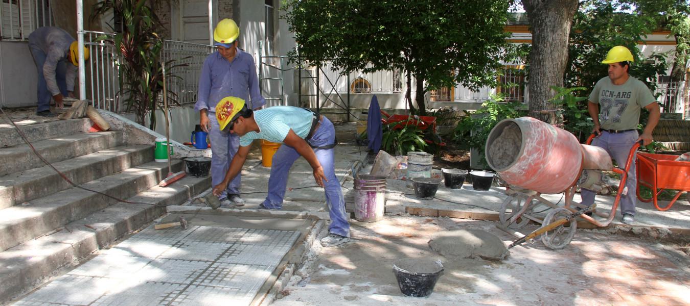 Con 17 obras en marcha avanza a buen ritmo el frente de obras en la ciudad Paraná