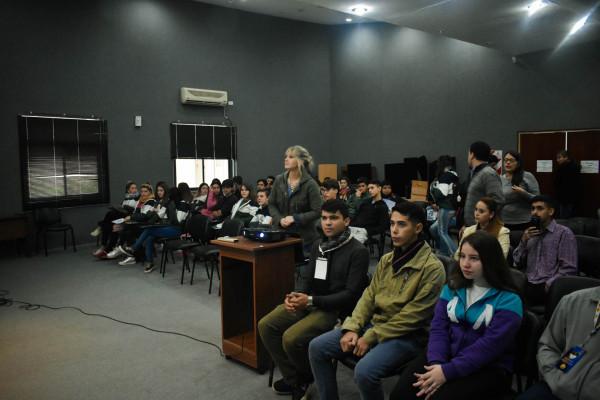 CAFESG capacita 840 estudiantes secundarios en Seguridad e Higiene