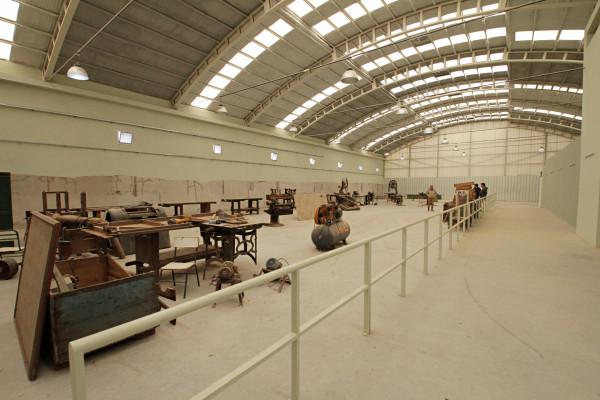 Avanzan las obras en el Taller industrial Manuel Pacífico Antequeda