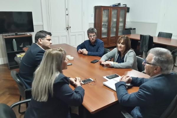 Se evaluó el plan de obras que se ejecuta en San José de Feliciano