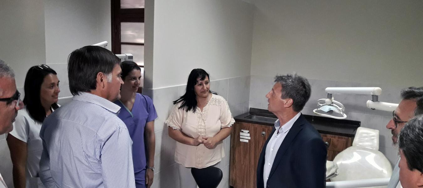 Finalizaron las obras de mejoras en el hospital de San Salvador