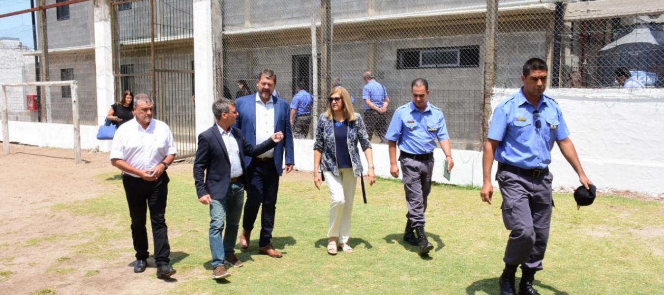La provincia fortalece la infraestructura en las unidades penales para brindar más seguridad