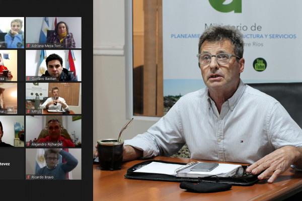 Trabajan en acciones del programa de integración y desarrollo de Salto Grande