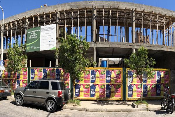 Repasan los avances de la obra del Instituto Becario de la provincia