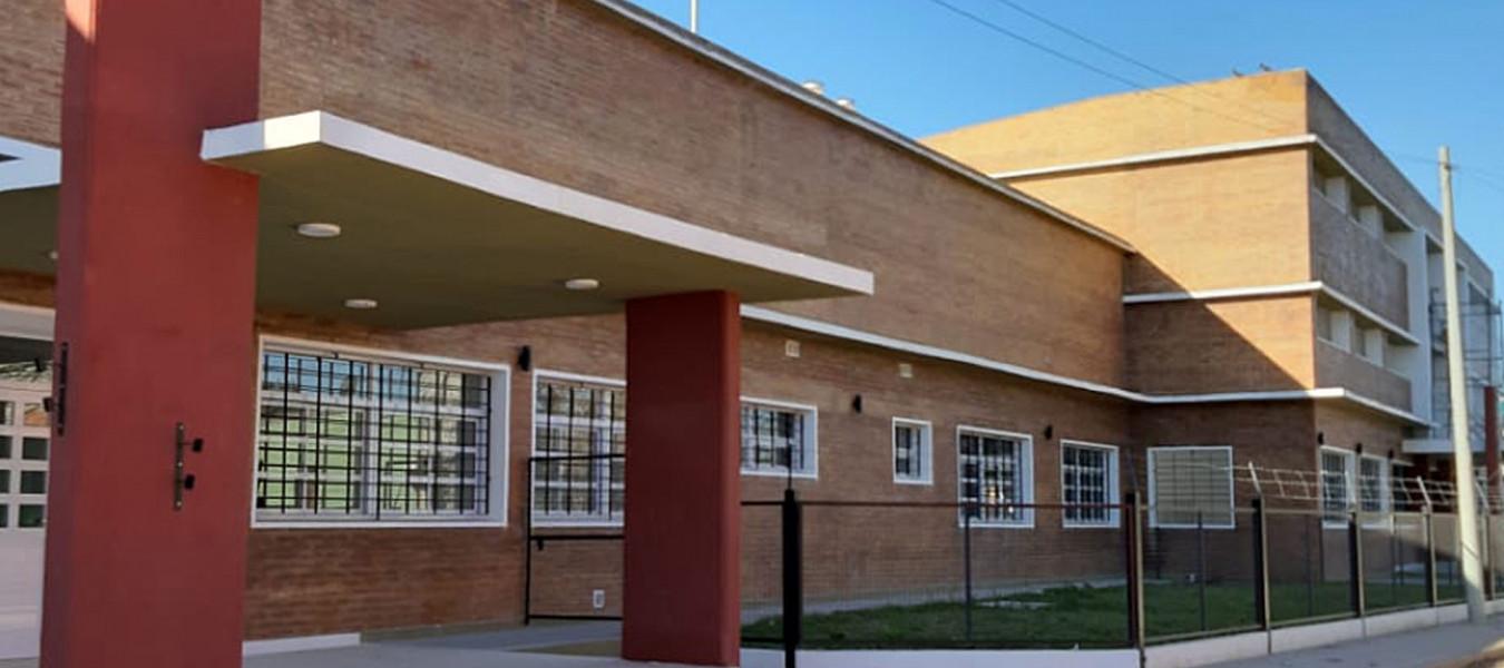 Etapa final de la obra de ampliación y reparación de la escuela 103 de Nogoyá