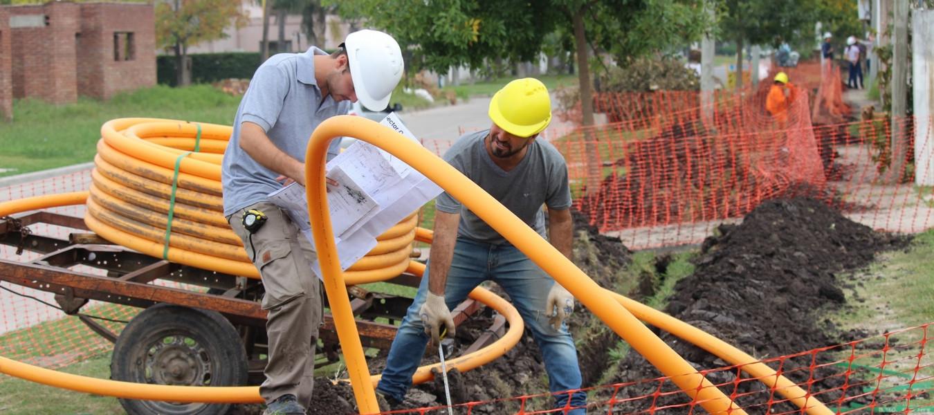 Desde la provincia proyectan nuevas inversiones para extender la red de gas natural