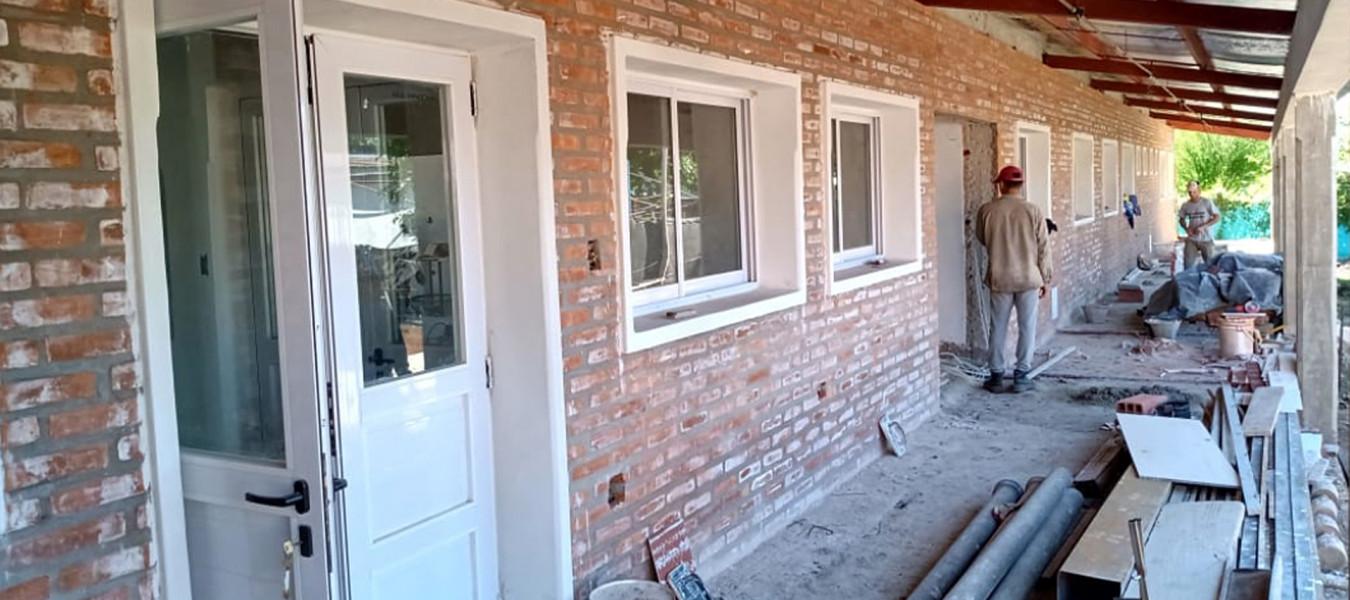 La obra de la nueva residencia de COPNAF de Federal presenta un avance de más del 79 por ciento