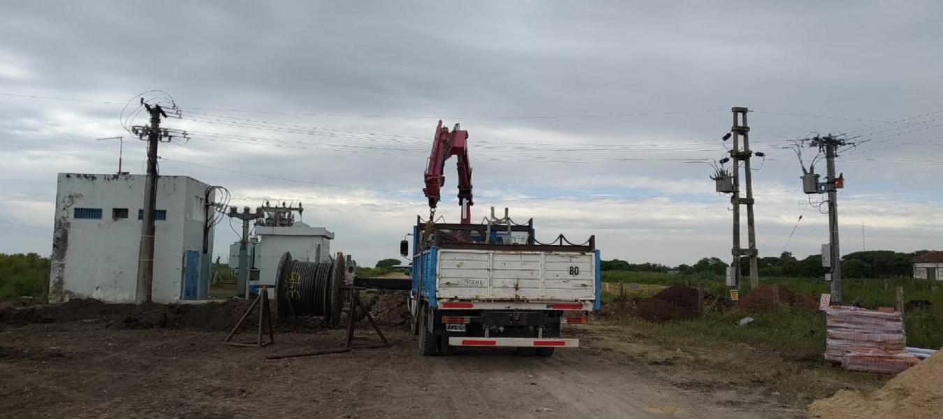 Comenzó la ejecución de la ampliación de la Subestación Transformadora en General Racedo