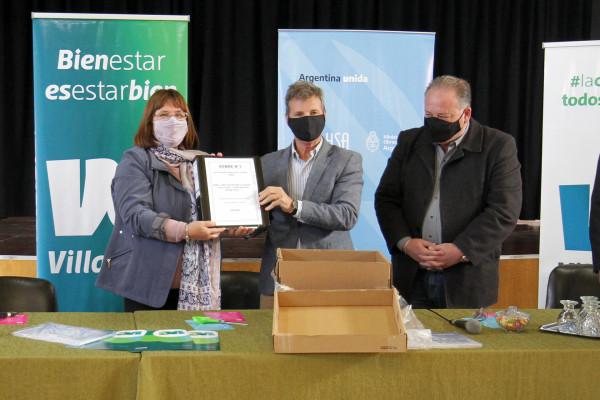 Se abrieron los sobres para la obra del plan totalizador de red cloacal en Villa Elisa