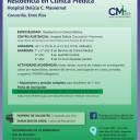Afiche de Clinia Medica 2015