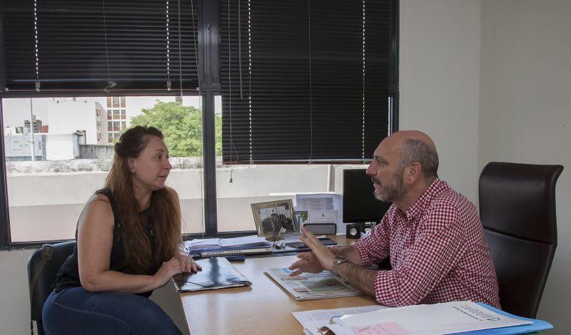 De la Rosa reunión con Miriam Muller