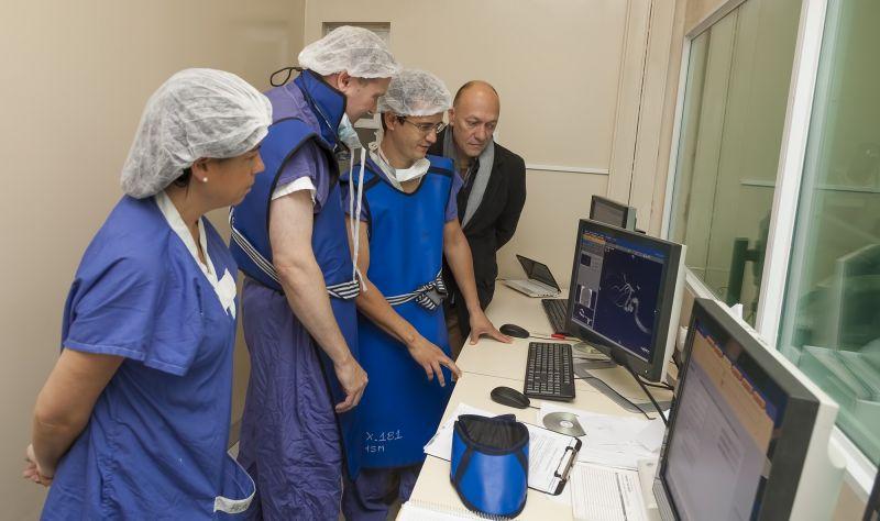 El hospital San Martín de Paraná practicó intervención inédita con stent 1