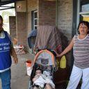 Acción agentes sanitarios centros de evacuados